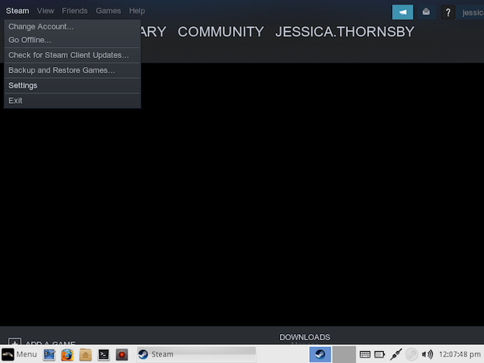 Enable Steam Play Linux